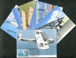 São Tomé E Príncipe 1979 AVIATION Aircraft Airplane Avion Flugzeug Maxicard Carte Maximum 5 Maxi Card St Thomas & Prince - Avions