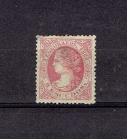 ESPAGNE - TP TELEGRAPHE - N°25 - X - 1868 - Télégraphe
