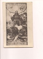 P5 SAN FRANCESCO ASSISI VII CENTENARIO 1927 VIAGGIATA QUADRO DI P VINCENZO DA POLIZZI - Santi