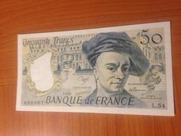 50 FRANCS QUENTIN DE LA TOUR 1988 NEUF - 1962-1997 ''Francs''