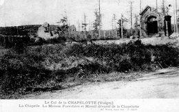 Col De La Chapelotte  Chapelle Et Maison Forestière - France