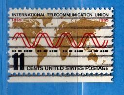 (Us2) USA °- 1965 - Tèlécommunications.  Yvert . 791 .  USED.  Vedi Descrizione - Stati Uniti