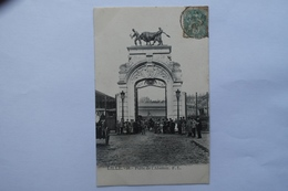 Cpa Lille Porte De L'abattoir 1904 - TOR07 - Lille