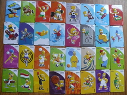 The Simpsons - Full Set Of 32 Fridge Magnets (Hungary) - Characters