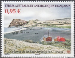 TAAF 2019 Cabanes De La Baie Américaine Crozet Neuf ** - French Southern And Antarctic Territories (TAAF)