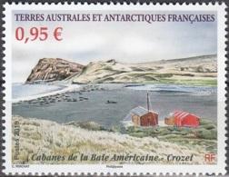 TAAF 2019 Cabanes De La Baie Américaine Crozet Neuf ** - Neufs