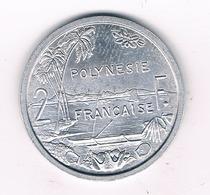 2 FRANCS 1965 FRANS  POLYNESIE /4582/ - Tahiti