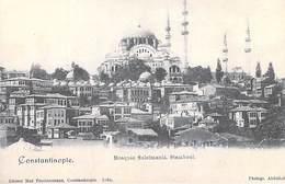TURQUIE Turkey  -CONSTANTINOPLE The Mosque Of Suleimanié Stamboul (Mosqué Süleymaniye ) (Mosquée Religion) *PRIX FIXE - Turkey