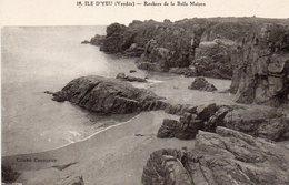 Ile D ' Yeu - Rochers De La Belle Maison - Ile D'Yeu