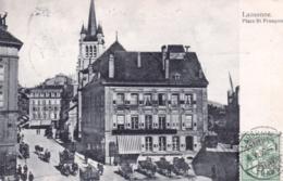 Suisse - Vaud - LAUSANNE - Place Saint Francois - 1906 - VD Vaud