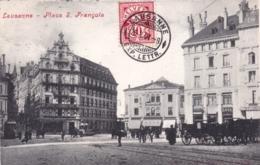 Suisse - Vaud - LAUSANNE - Place Saint Francois - 1907 - VD Vaud