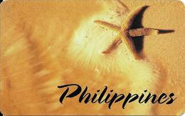 CARTE-PREPAYEE-MCI--PHILIPPINES-12$-ETOILE De MER-TBE - Filippijnen