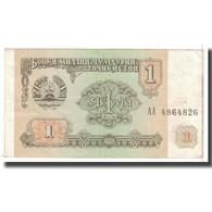 Billet, Tajikistan, 1 Ruble, 1994, KM:1a, TTB - Tadjikistan