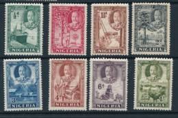 NIGERIA, 1936 Short Set To 1/- Very Fine MM, Cat £11 - Nigeria (...-1960)