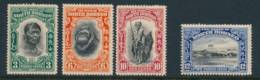 NORTH BORNEO, 1931 3c, 6c, 10c, 12c Very Fine Light MM - Noord Borneo (...-1963)