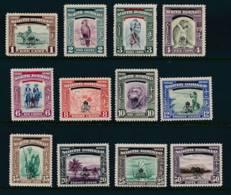 NORTH BORNEO, 1947 Crown Colony To 50c Very Fine Light MM - Noord Borneo (...-1963)