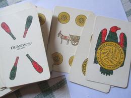 Carte Da Gioco Demons/ Milano Anni 70 - Carte Da Gioco