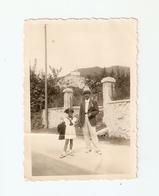 FO--00115-- FOTO ORIGINALE - COSTA DI VITTORIO VENETO 28 AGOSTO 1937 ( TREVISO) LEGGERE IL RETRO - Anonieme Personen