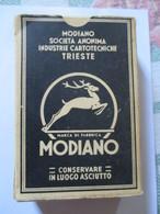 Carte Da Gioco Modiano  1953/ Francesi - Carte Da Gioco