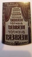 PLAQUE METAL PUBLICITAIRE THEATRE LA CHATTE SUR UN TOIT BRULANT - Advertising (Porcelain) Signs