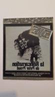 PLAQUE METAL PUBLICITAIRE FILM LA REINCARNATION DE PETER PROUD 1975 - Advertising (Porcelain) Signs