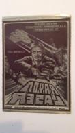 PLAQUE METAL PUBLICITAIRE FILM RAYON LASER 1978 - Cartelli Pubblicitari