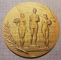 """Russia USSR, The Best Team Of Physical Culture Club """"Spartak"""", Medal 9 Cm - Other"""