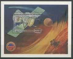 Madagaskar 1985 Raumfahrt Raumsonde Block 32 Postfrisch (C24371) - Madagaskar (1960-...)