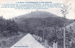 67 - Bas Rhin - Haut-Koenigsbourg - Le Hohkoenigsbourg Vu De La Montée Par SAINT HIPPOLYTE - Francia