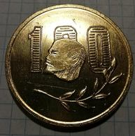 Russia USSR, Lenin, Leader Of Production Tin 20, Medal 4.5 Cm - Other