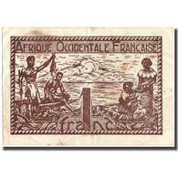 Billet, French West Africa, 1 Franc, Undated (1944), KM:34b, TTB - États D'Afrique De L'Ouest