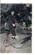 """Grand Bi, Vélocipède, Vélo, Bicyclette, Cyclisme - Ronde De France Sur Grand Bicycle Dit """"Araignée"""" Modèle 1880 - Généalogie"""
