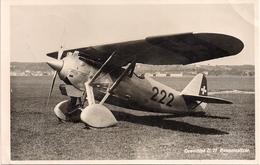 Aviation - Avion Armée Suisse Dewoitine D-27 - Dübendorf - 1932 - 1919-1938: Entre Guerras