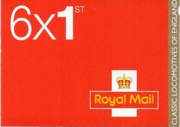 GREAT BRITAIN 2011 Classic Locomotives Of England Booklet - Booklets