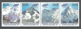PAKISTAN 2017 INTERNATIONAL YEAR OF SUSTAINABLE TOURISM FOR DEVELOPMENT MOUNTAIN IN PAKISTAN MNH - Pakistan