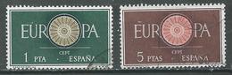 Espagne YT N°975/976 Europa 1960 Oblitéré ° - Europa-CEPT