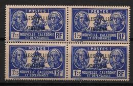 Wallis Et Futuna - 1930-38 - N°Yv. 60B - Bougainville 1f75 - Bloc De 4 - Neuf Luxe ** / MNH / Postfrisch - Unused Stamps