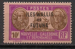 Wallis Et Futuna - 1930-38 - N°Yv. 64 - Bougainville 10f - Neuf Luxe ** / MNH / Postfrisch - Wallis And Futuna