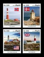 Angola 2019 Mih. 2086/89 Lighthouses Of The World MNH ** - Angola