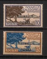 Wallis Et Futuna - 1944 - N°Yv. 125 Et 126 - Paletuviers 10c / 15c - Neuf Luxe ** / MNH / Postfrisch - Wallis Und Futuna