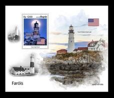 Angola 2019 Mih. 2090 (Bl.183) Lighthouses Of The World MNH ** - Angola