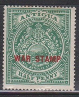 ANTIGUA Scott # MR2 MH - Colony Seal Overprinted War Stamp - Antigua & Barbuda (...-1981)