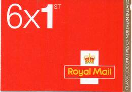 GREAT BRITAIN 2013 Classic Locomotives Of Northern Ireland Booklet - Booklets