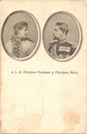 A. L. R. Principele FERDINAND Si Principesa MARIA - FORMATO PICCOLO - VIAGGIATA 1914 - (rif. M39) - Romania