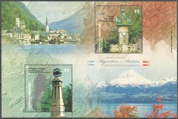 2010 Argentina Weather Forecast Stations (joint With Austria) Minisheet (** / MNH / UMM) - Joint Issues