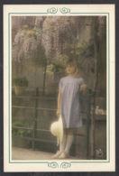 92615/ ENFANTS, Adolescente Sous Une Glycine, Photo Signée KRIS - Scene & Paesaggi