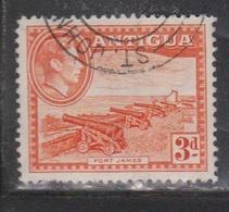 ANTIGUA Scott # 89 Used - KGVI & Fort James - Antigua & Barbuda (...-1981)