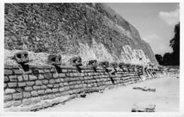 MEXICO Mexique ** Tarjeta Foto Real Photo Carte Photo # 136 ** Pyramid TENAYUCA - Format CPA - Messico