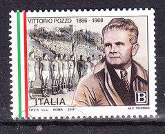 2018  VITTORIO POZZO  USATO - 6. 1946-.. Repubblica