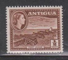 ANTIGUA Scott # 136 MH - QEII & Fort James - Antigua & Barbuda (...-1981)